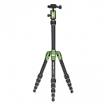 MeFoto Metallic Travel Tripod - Green