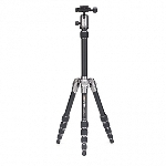 MeFoto Metallic Travel Tripod - Titanium