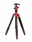 MeFoto Transfunctional Travel Tripod Kit - Red