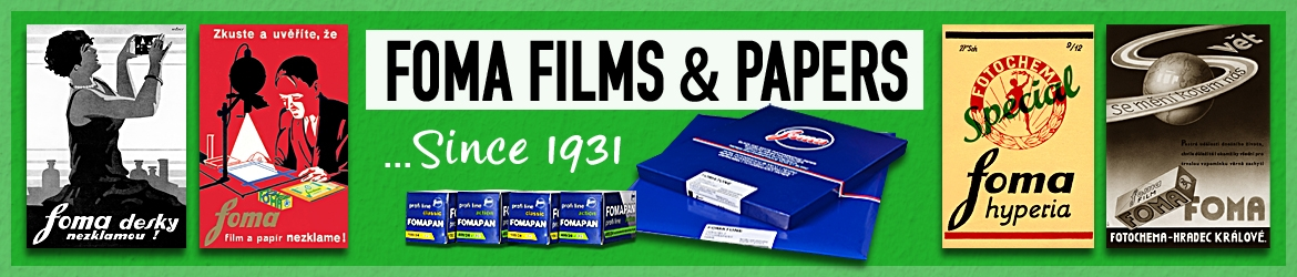 Foma films and Papers... Since 1931